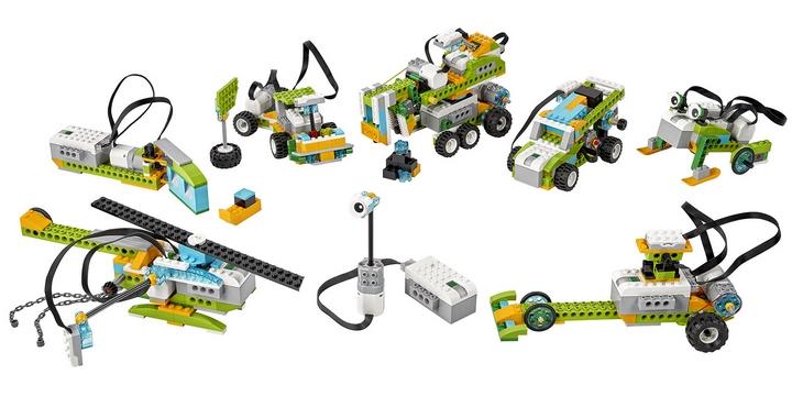 Alcuni modelli Lego Education WeDo 2.0