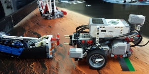 Lego Mindstorms EV3 Space Challenge in azione