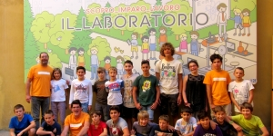 Foto di gruppo durante i Summer Campus 2015