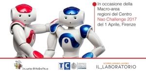 Noi e NAO - corso di formazione docenti. Scuola di Robotica di Genova presso Il_Laboratorio a Firenze