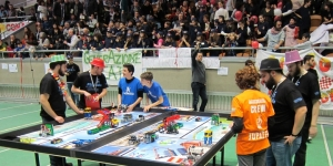 Gara di robotica della First Lego League